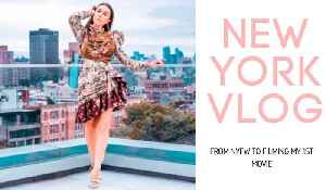 New York Vlog: Rihanna Fashion Show To Filming My First Movie! [Video]