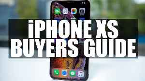 News video: iPHONE XS BUYER'S GUIDE -- comparing Apples to Apples