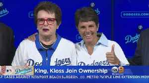 Billie Jean King Joins Dodgers Ownership Group [Video]