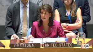 Ambassador Nikki Haley Reports On The Middle East Crisis [Video]