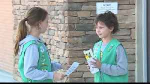 Girl Scout help collect supplies for pets affected by Hurricane Florence [Video]