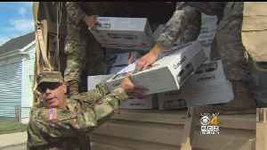 National Guard Delivers Hot Plates Door-To-Door In Lawrence: 'Neighbors Helping Neighbors' [Video]