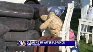 Cleaning up after Florence [Video]