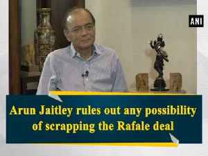 Arun Jaitley rules out any possibility of scrapping the Rafale deal [Video]