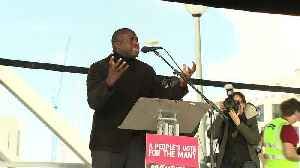 Lammy calls for option to remain in EU on People's Vote [Video]