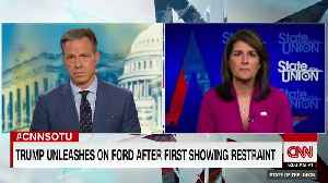 Nikki Haley Weighs In On Trump's Remarks About Kavanaugh Accuser Ford [Video]