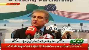 Foreign Minister Shah Mehmood Qureshi Media Talk In Washington [Video]