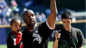 Kanye West Throw W/ Son At White Sox Game [Video]