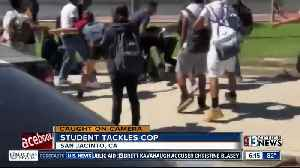 School officer attacked in California [Video]