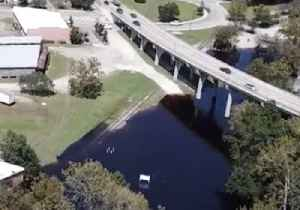 Rising River Water Overflows into South Carolina Town [Video]
