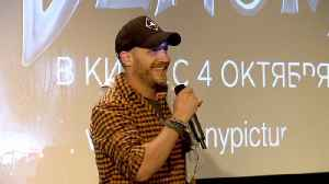 Tom Hardy Went To Russia To Meet With Fans And Have Fun [Video]