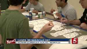 Volunteers Make A Difference At Metro Schools [Video]