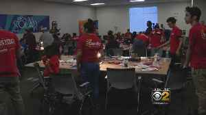 Latino Students Spend Saturday With STEM Projects [Video]