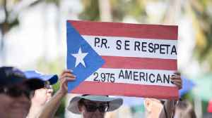 Puerto Ricans rally in West Palm Beach to protest Trump [Video]