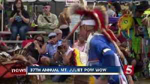 37th Annual Pow Wow Held In Mt. Juliet [Video]