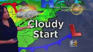 Cool, Cloudy Day Ahead Sunday [Video]
