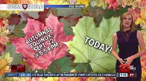 Summer-like temperatures remain for the first week of fall [Video]