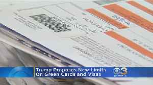 Trump Proposes New Limits On Green Cards, Visas [Video]