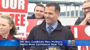Governor Candidate Marc Molinaro Announces CuomoLeaks Website [Video]