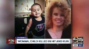 Woman and child hit and killed by hit and run driver [Video]