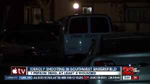 One man dead, four others wounded in southwest Bakersfield shooting [Video]