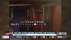 A woman who was groped on subway in New York City decided she wasn't going to let the man get away with it. [Video]
