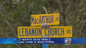 19-Year-Old Woman Dead After West Mifflin Accident [Video]