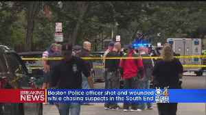 Boston Police Officer Shot, Three In Custody After South End Incident [Video]