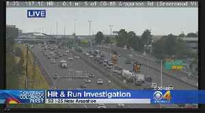 Police Look For Truck Involved In Motorcycle Hit & Run On I-25 [Video]