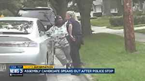 'I felt so belittled': Police video shows stop that has black candidate speaking out [Video]
