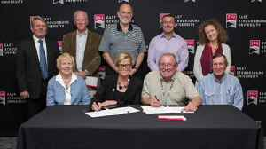 VIDEO: East Stroudsburg University Signs Deal with Indian Tribe [Video]