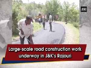 Large-scale road construction work underway in J&K's Rajouri [Video]