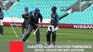 Pakistan Going Through Confidence Crisis –Coach Mickey Arthur [Video]