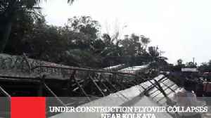 Under Construction Flyover Collapses Near Kolkata [Video]