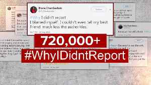 #WhyIDidntReport: Hundreds of thousands share stories of rape, assault online [Video]