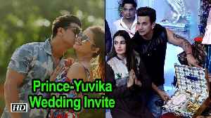 Prince Narula-Yuvika Chaudhary send out their First Wedding Invite [Video]