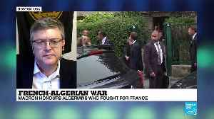As Macron honours Algerians who fought for France, William Lawrence explains France''s difficult relation with Algeria [Video]