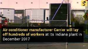 Carrier Plant Trump 'Rescued' Will Lay Off Hundreds by Christmas [Video]