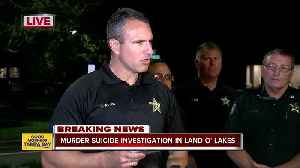 Sheriff: Hillsborough County deputy shoots and kills his wife before committing suicide [Video]