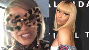 Cardi B & Nicki Minaj Face Off In Milan Fashion Week [Video]