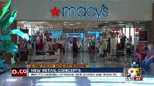 New retail concepts for Macy's [Video]