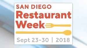 San Diego Restaurant Week - It's Your Week to Remember! [Video]