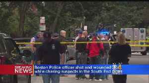 Boston Police Officer Shot In The Calf After Appearing 3 People In The South End [Video]