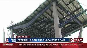 Staff prepares for Tulsa State Fair [Video]