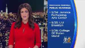 NYC Public Meetings On Legal Pot Set For This Week [Video]