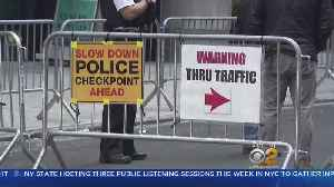 U.N. General Assembly Traffic Expected To Triple Drive Times In Manhattan [Video]