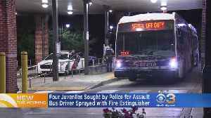 Police Searching For 4 Juveniles Accused Of Spraying SEPTA Bus Driver With Fire Extinguisher [Video]