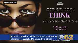 Aretha Franklin Exhibit Debuts At The Charles H. Wright Museum [Video]