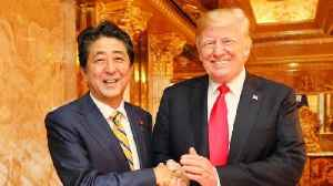 Trump and Japanese PM Abe Meet Ahead of UN Gen. Assembly [Video]