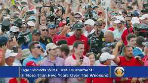 This Week In Golf: Woods Takes Tour Championship, Rose Wins FedExCup